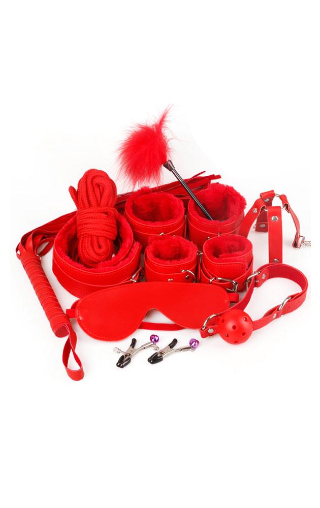 Комплект за връзване - червен