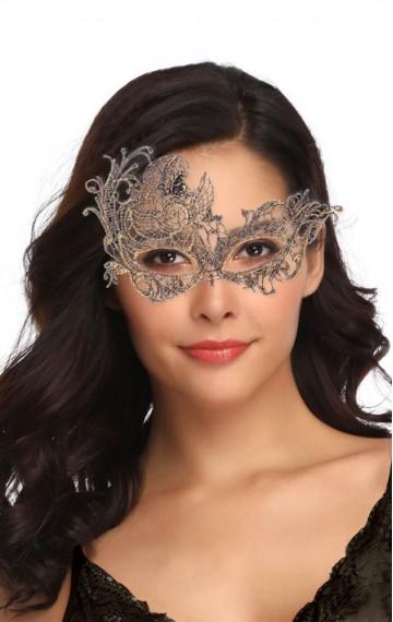 Бляскава маска за очи