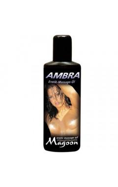 Еротично масажно олио MAGOON 100 мл. Амбра
