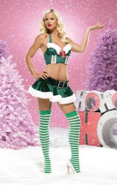 Коледен костюм Елф