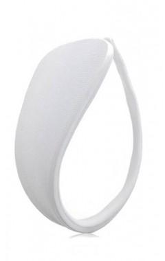 Си стринг (C-string) - плътен бял