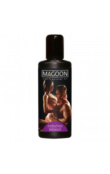 """Еротично масажно олио """"MAGOON"""" индийски масаж - 50 мл"""
