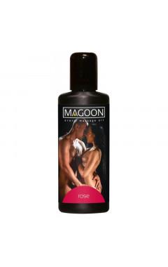 Еротично масажно олио Magoon 100 мл с аромат на розово масло