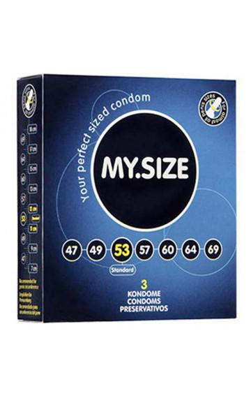 """Презервативи """"MY SIZE"""" 53 мм. - 3 бр."""
