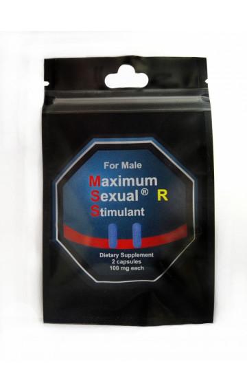 """Възбуждащи хапчета за мъже """"MSS"""" - 2 бр."""