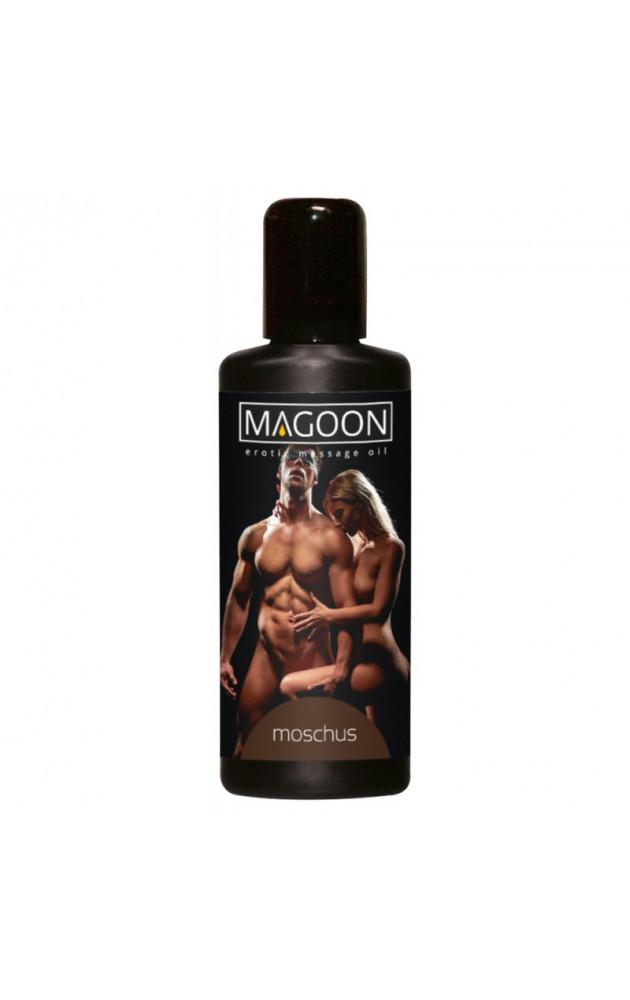 """Еротично масажно олио """"MAGOON"""" Мускус 100 мл."""