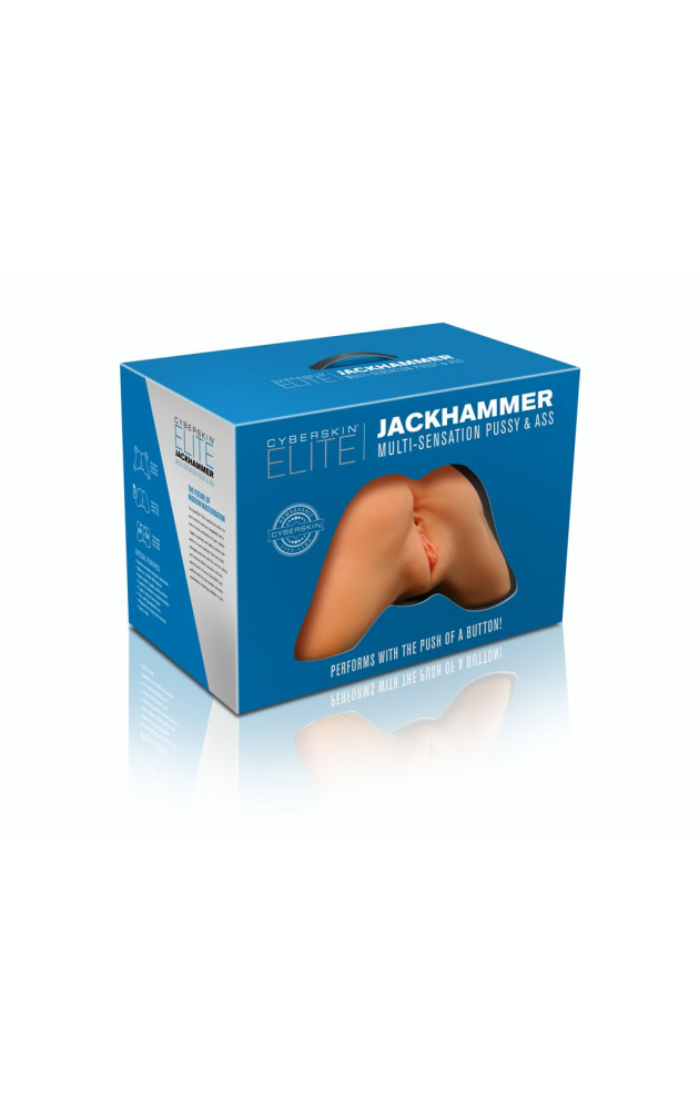 Реалистичен торс с вагина и анус от кибер кожа Elite Jackhammer
