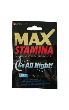 Възбуждащи таблетки Max Stamina за мъже