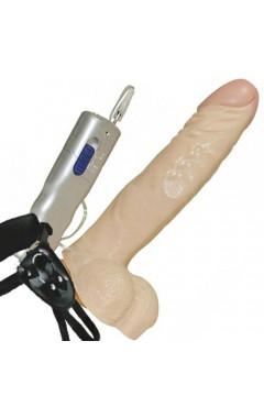 Вибриращ пенис колан 21 см.