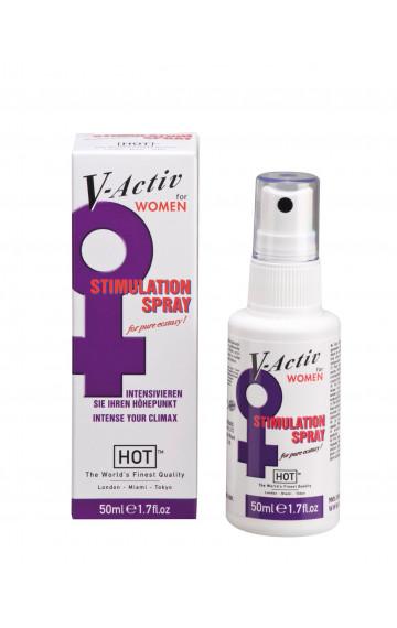 Възбуждащ спрей за жени V-Active