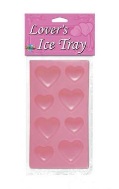 Форма за лед на сърчица