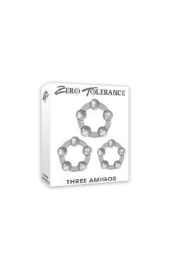 Комплект пенис пристегачи Three Amigos